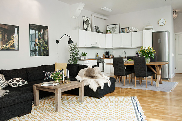 Vivir en un espacio abierto my cms Decoracion de espacios abiertos en casa